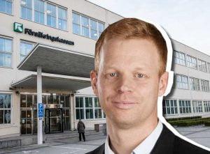 Andreas Larsson, Försäkringskassan (collage)