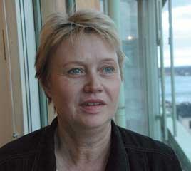 Foto på Ann-Kristin Sandberg