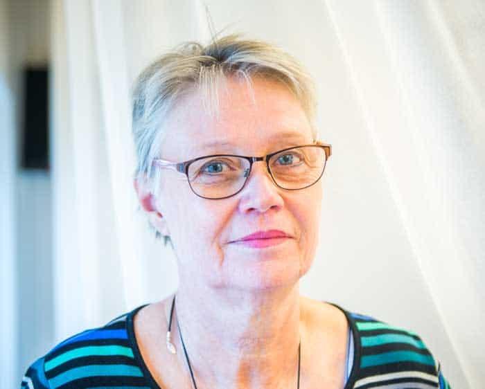 Ann-Kristin Sandberg. Foto: Linnea Bengtsson.