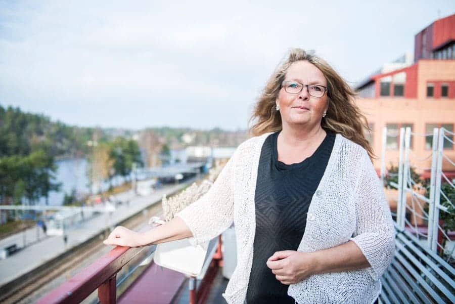 Anna Barsk Holmbom. Foto: Linnea Bengtsson.
