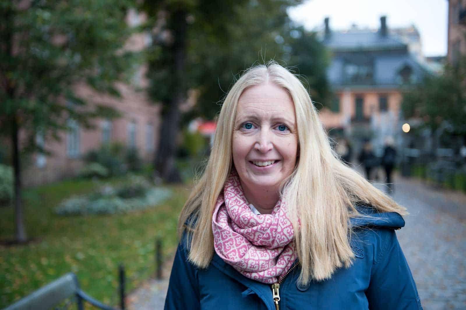 Annelie Karlsson. Foto: Anna Pella.