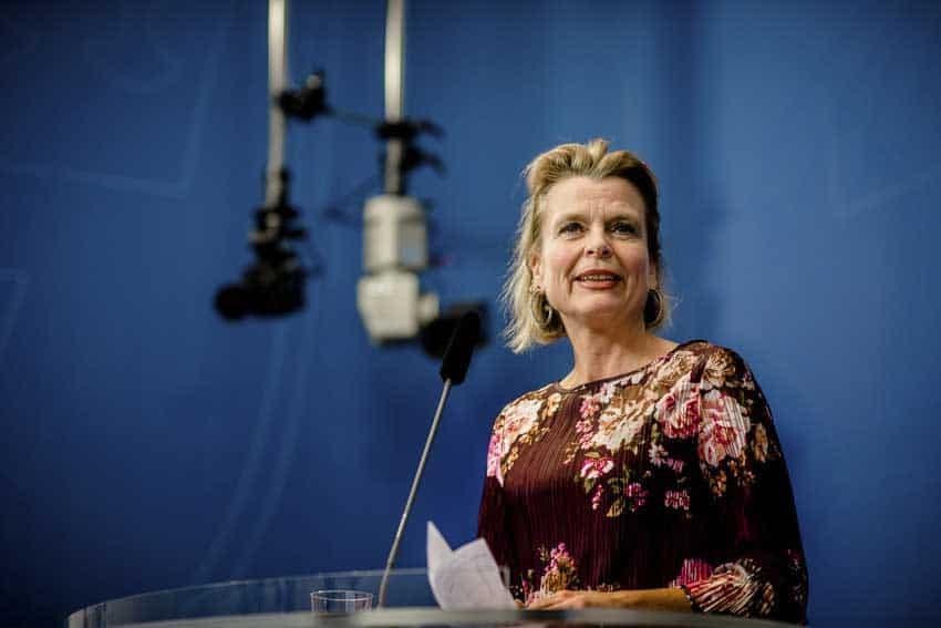 Åsa Regnér siktar på en ny karriär inom FN. Foto: Linnea Bengtsson.
