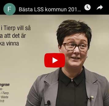 Video med finalisterna i Bästa LSS-kommun.
