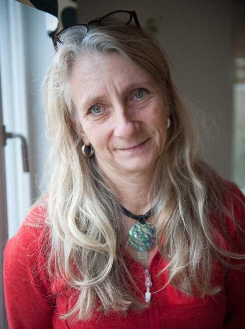 """""""Vi hjälper föräldrarna att hitta föräldrakraften"""", säger Cecilia Stocks. Foto: Anna Pella."""