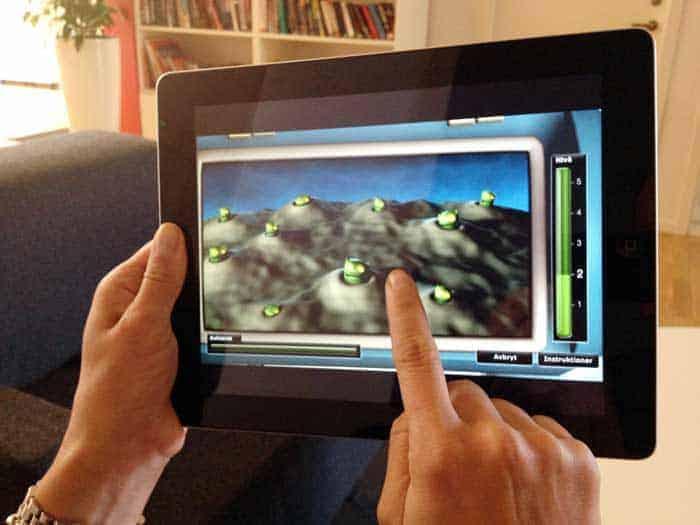 Nu kan arbetsminnet tränas på iPad