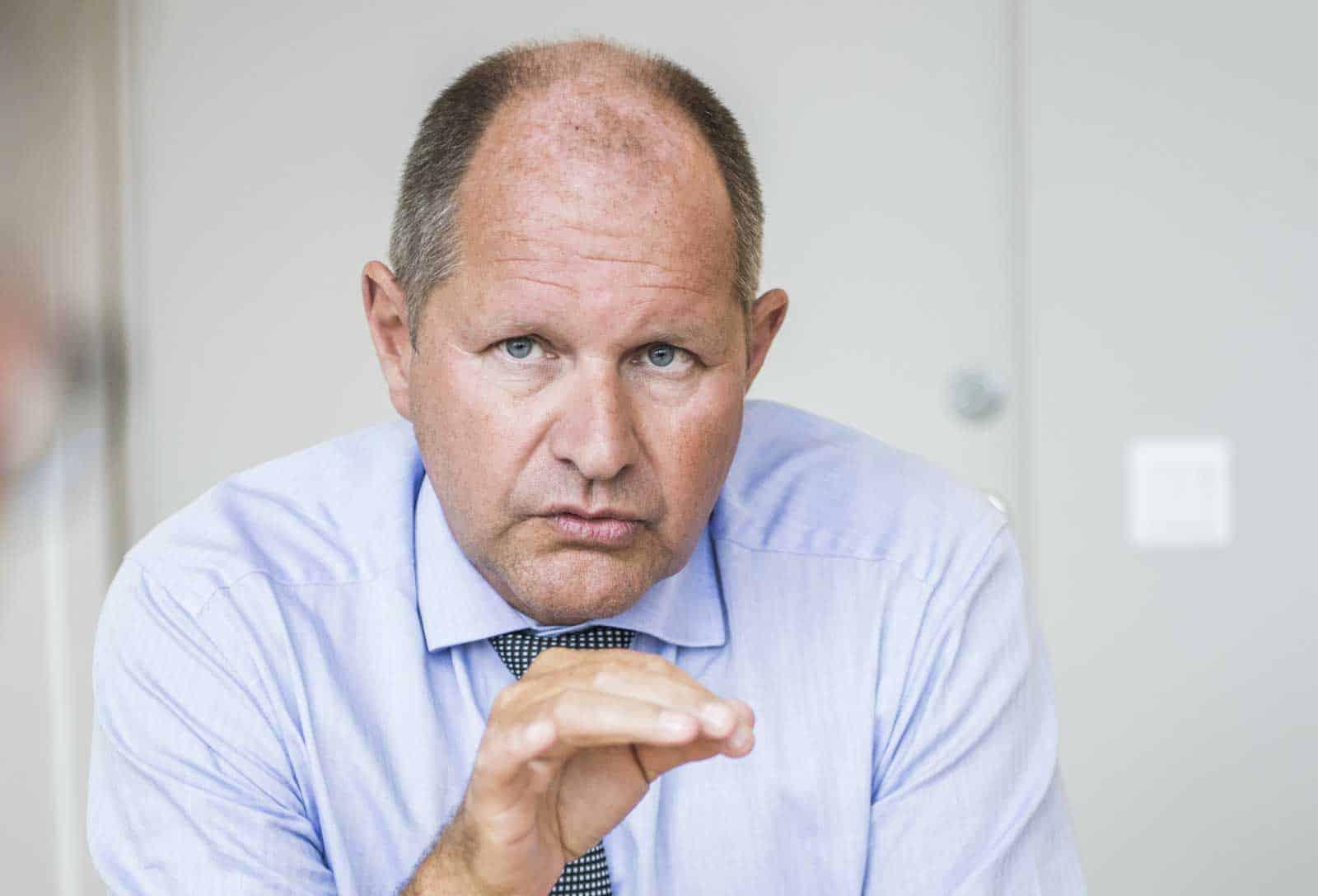Dan Eliasson. Foto: Linnea Bengtsson.  