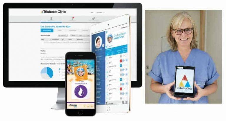 Unga får stenkoll på diabetes med ny app
