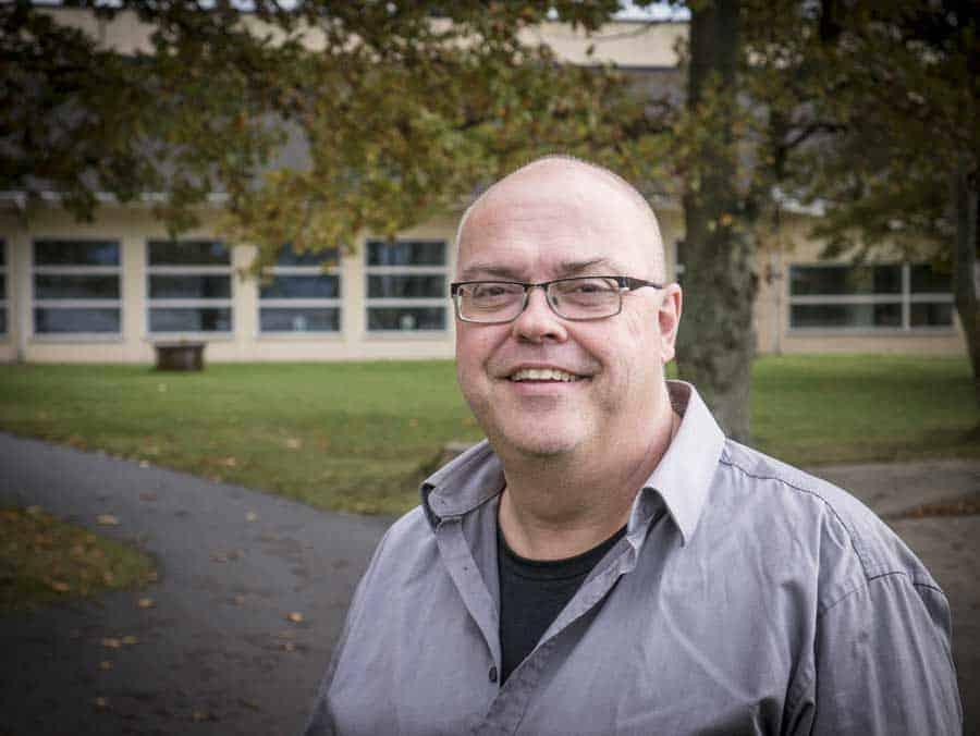 Eric Sandström, Valjevikens folkhögskola. Foto: Anders Lindström