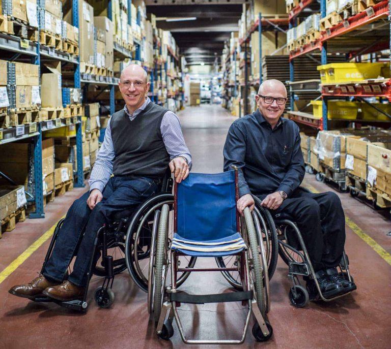 Eldsjälarna på Etac som aldrig slutar förbättra sina rullstolar