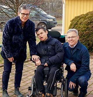 Råd om smärtlindring värdefull hjälp för familjen Hassel