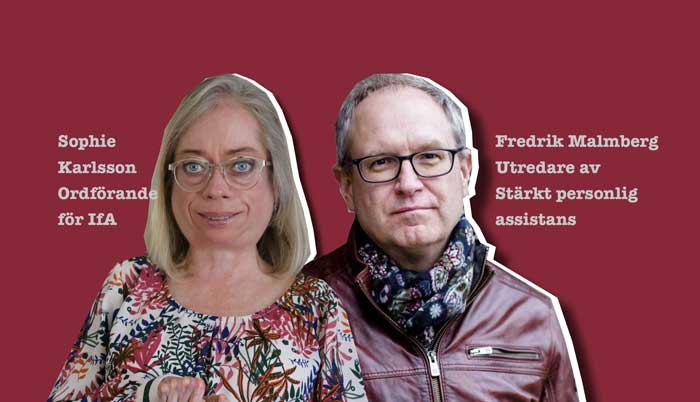 Sophie Karlsson och Fredrik Malmberg (collage)