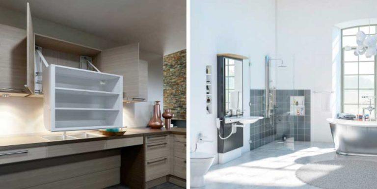 Avancerade anpassningar för kök och badrum