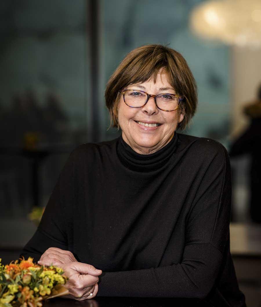 Gunilla Malmborg är regeringens LSS-utredare. Foto: Linnea Bengtsson.