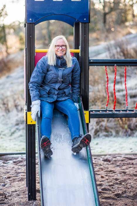 Hanna Jarvad. Foto: Linnea Bengtsson