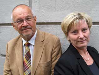 Foto på Ingemar Färm och Cecilia Kennerfalk.