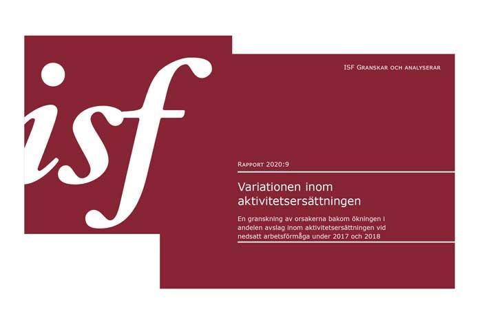 ISF rapport om aktivitetsersättning
