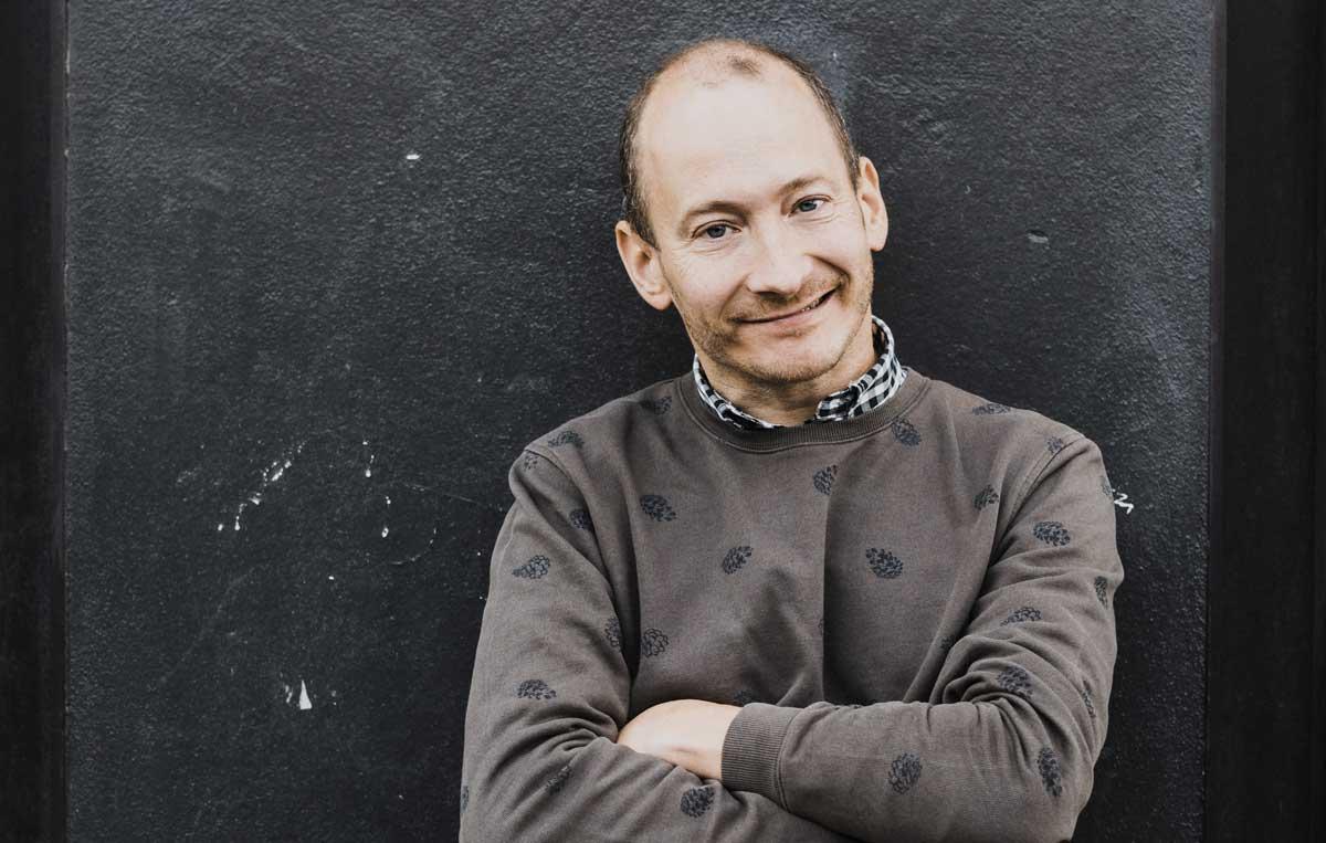 Jonas Helgesson. Foto: Maria Lindeskär.