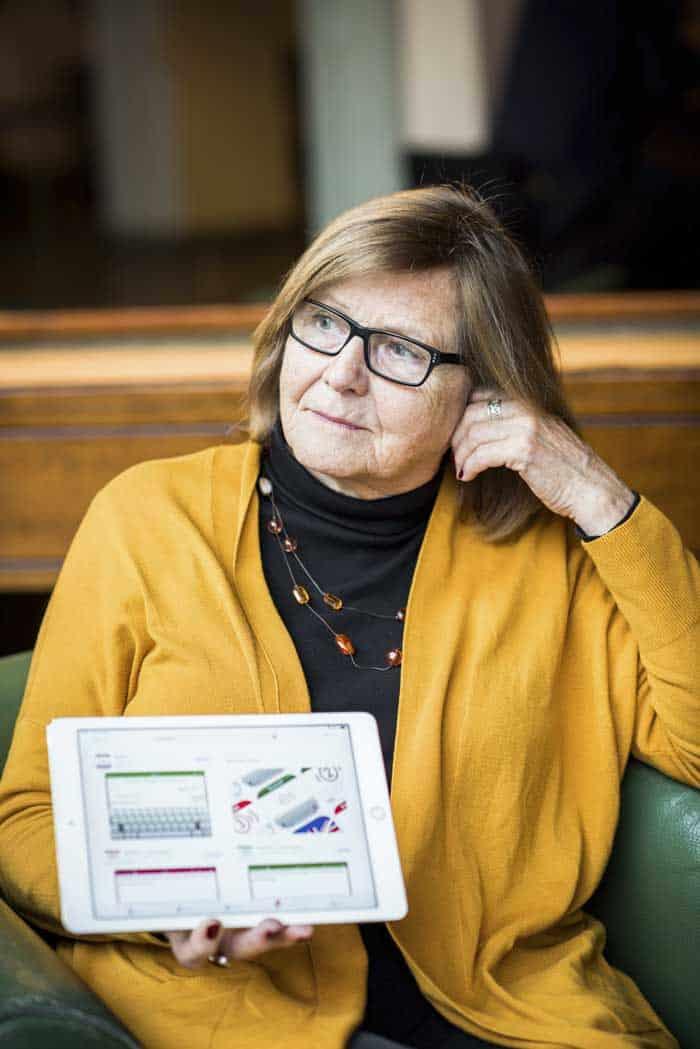 Karin Ohlis. Foto: Linnea Bengtsson