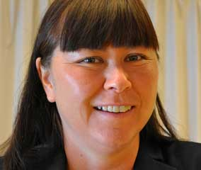 Foto på Katarina Berg