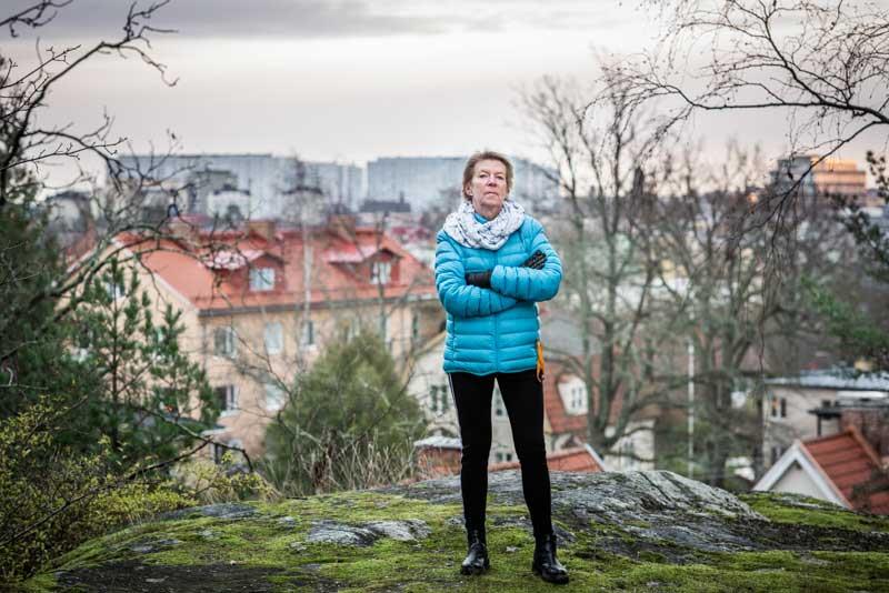 Kerstin Scheutz. Foto: Linnea Bengtsson