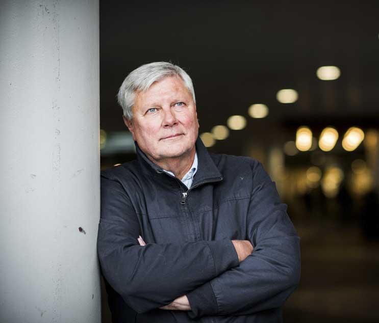Lars Olhy. Foto: Linnea Bengtsson.