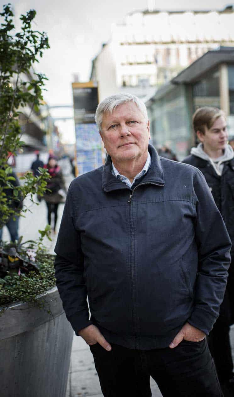 Lars Ohly utsågs tidigare i år till ordförande för Funktionsrätt Sverige
