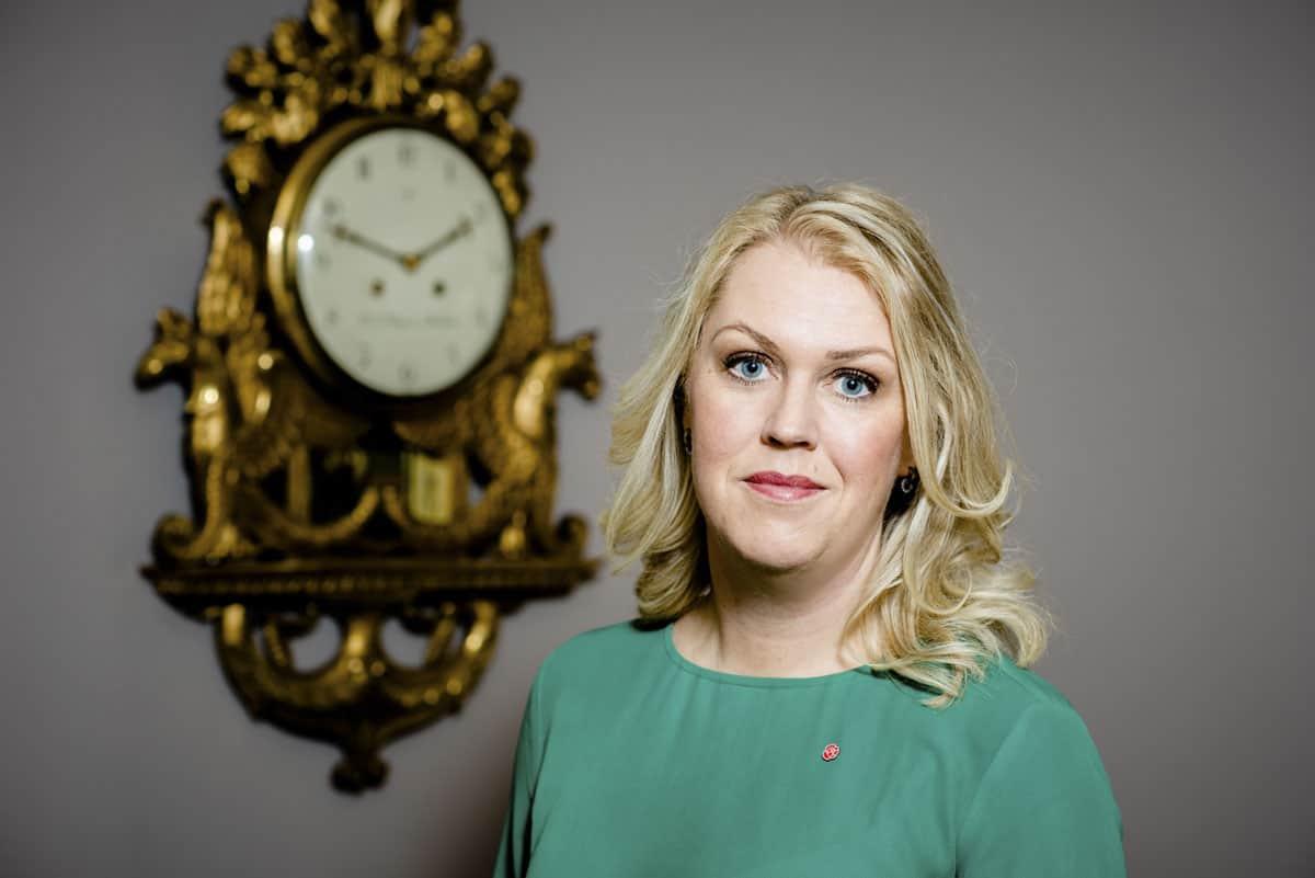 Lena Hallengren. Foto: Linnea Bengtsson