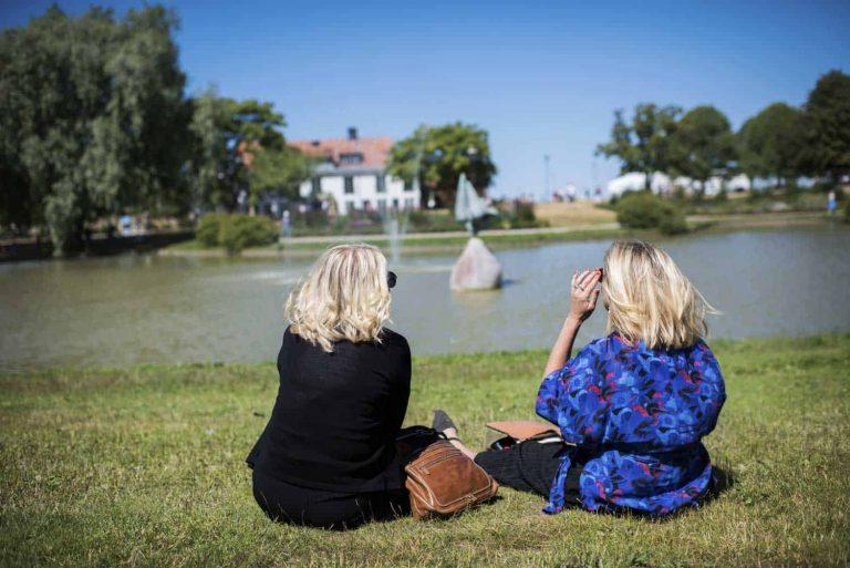 En dag med Lena Hallengren – i bilder
