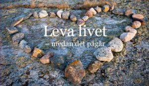 Leva livet medan det pågår|Skärmbild från NKA-webbinarium||Maria Blad|Mona Pihl|Illustration som visar balans