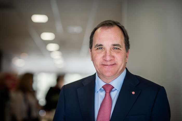 Stefan Löfven. Foto: Linnea Bengtsson.