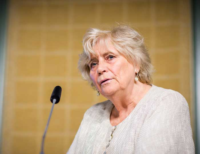 Margareta Winberg. Foto: Linnea Bengtsson