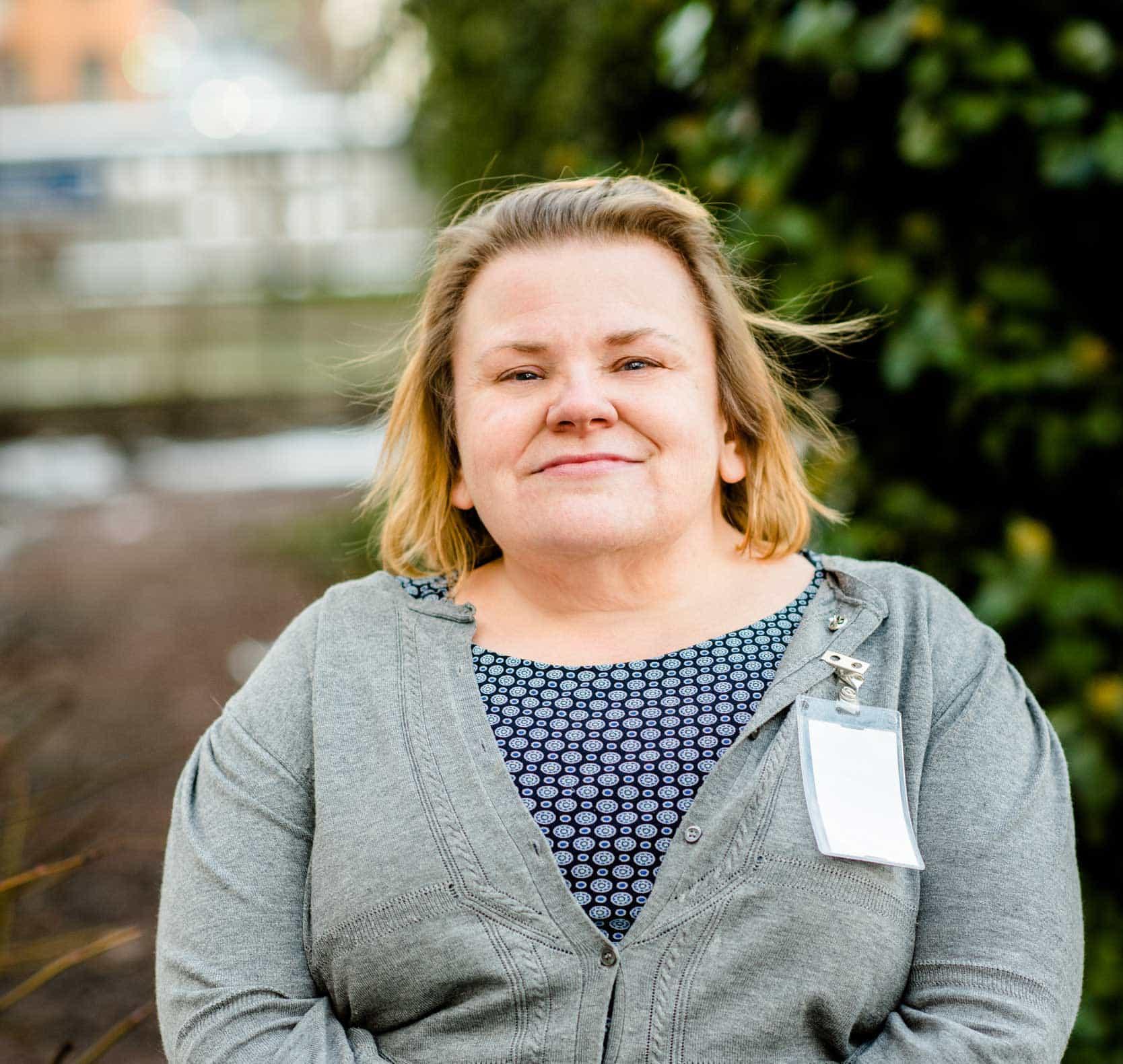 Maria Johansson. Foto: Linnea Bengtsson.
