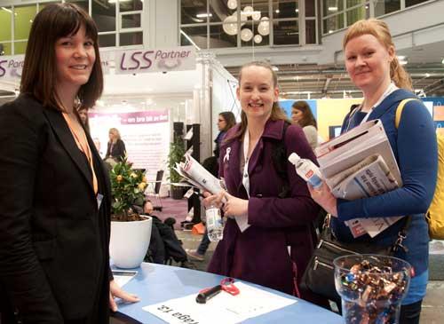 Foto på Maria Sevedsson, Anethe Hellström och Camilla Ljungberg.