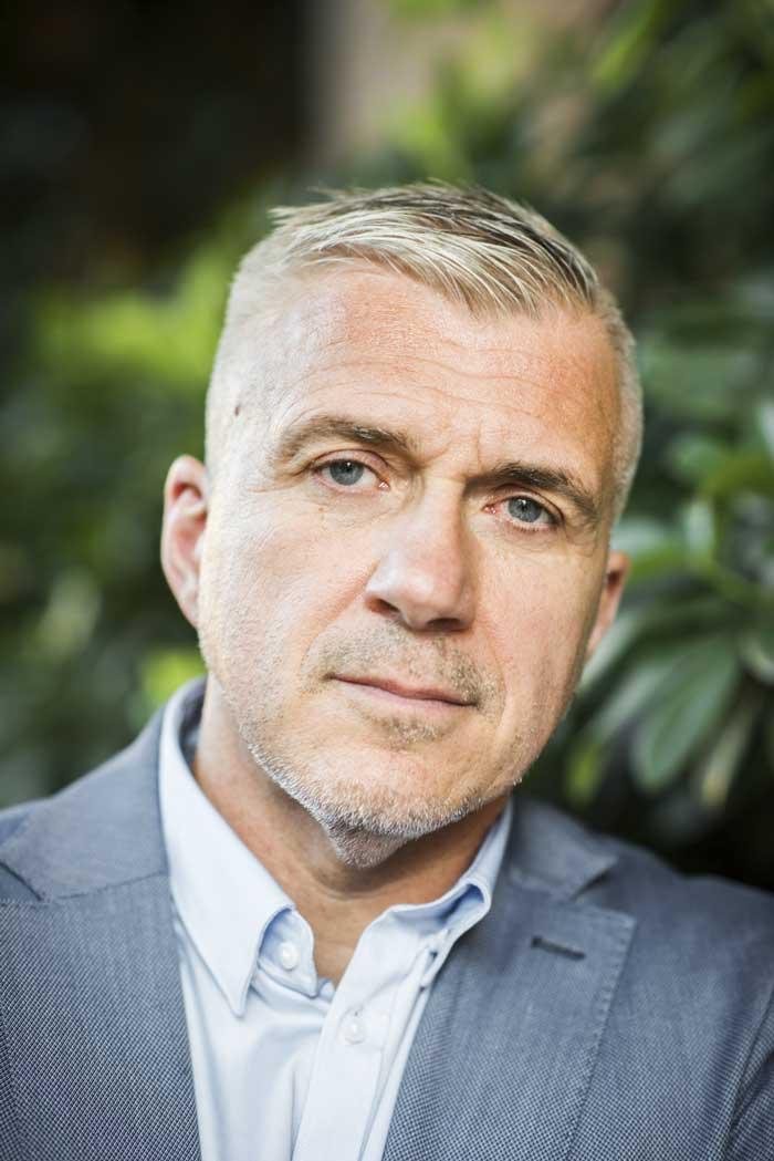 Foto på Stefan Anering, MSB. Foto: Linnea Bengtsson