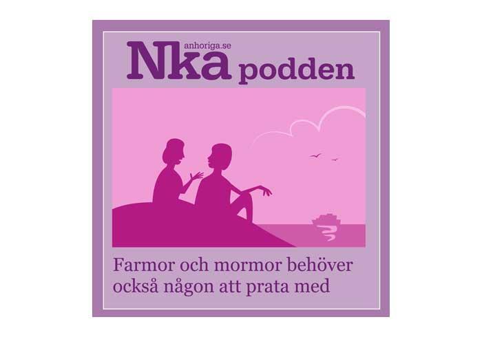 NKA-poddens symbol|NKA-poddens logotyp