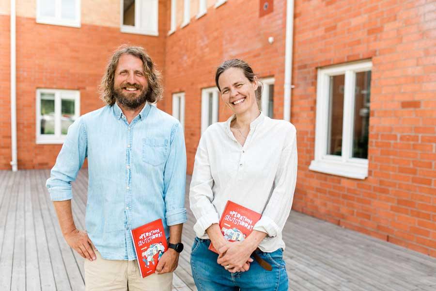 Mikael Nordmark och Anna Pella. Foto: Jenny Drakenlind