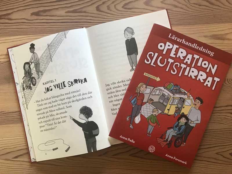 Operation slutstirrat – första boken i serien om Funkisfamiljen