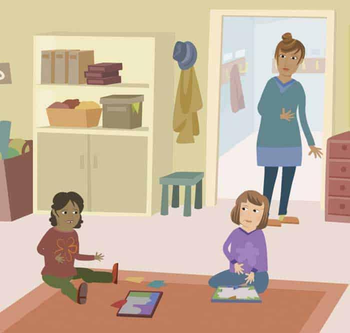 """""""Redan när barn är två år börjar de jämföra sig med andra"""""""