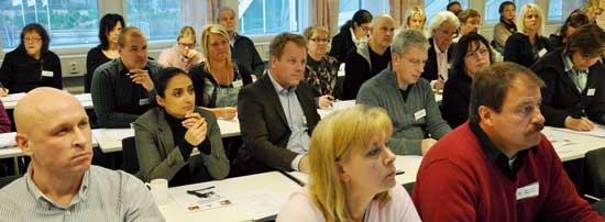 PARO-medlemmar möttes nyligen på en konferens för att bland annat få information om den nya kvalitetscertiferingen.