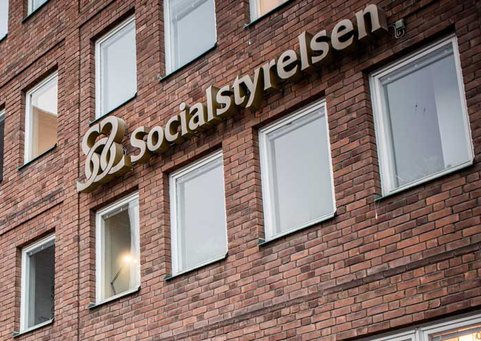 Socialstyrelsen i Stockholm. Foto: Linnea Bengtsson