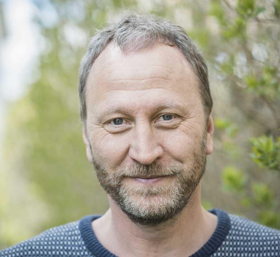Sören Olsson har skrivit krönikor i varje nummer av Föräldrakraft sedan starten 2006. Foto: Linnea Bengtsson.