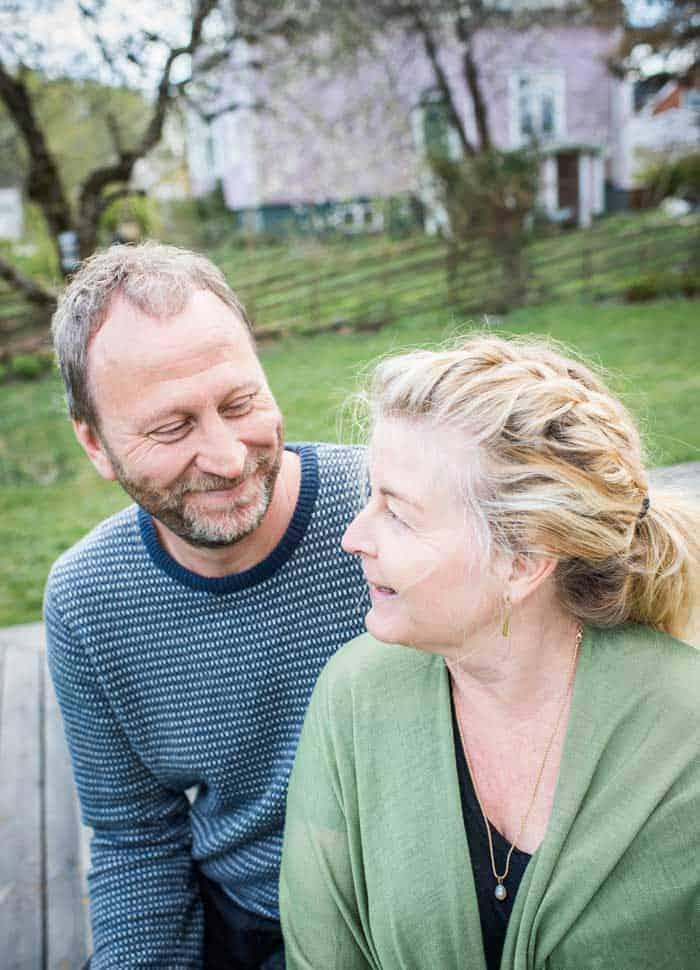 Sören Olsson och Yvonne. Foto: Linnea Bengtsson