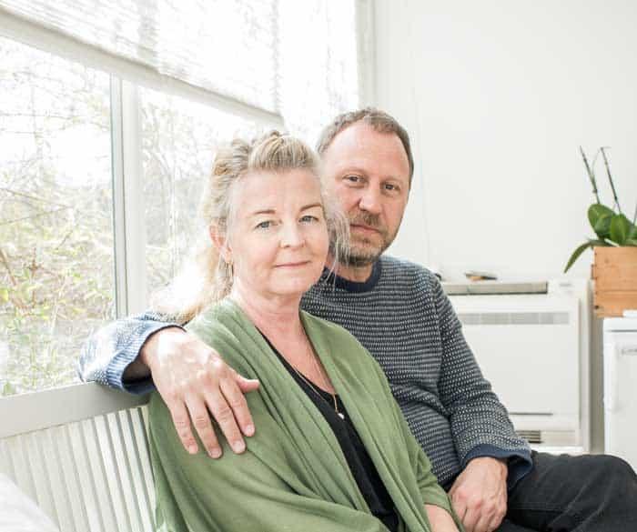 Foto på Sören Olsson och Yvonne Brynggård-Olsson. Foto: Linnea Bengtsson.