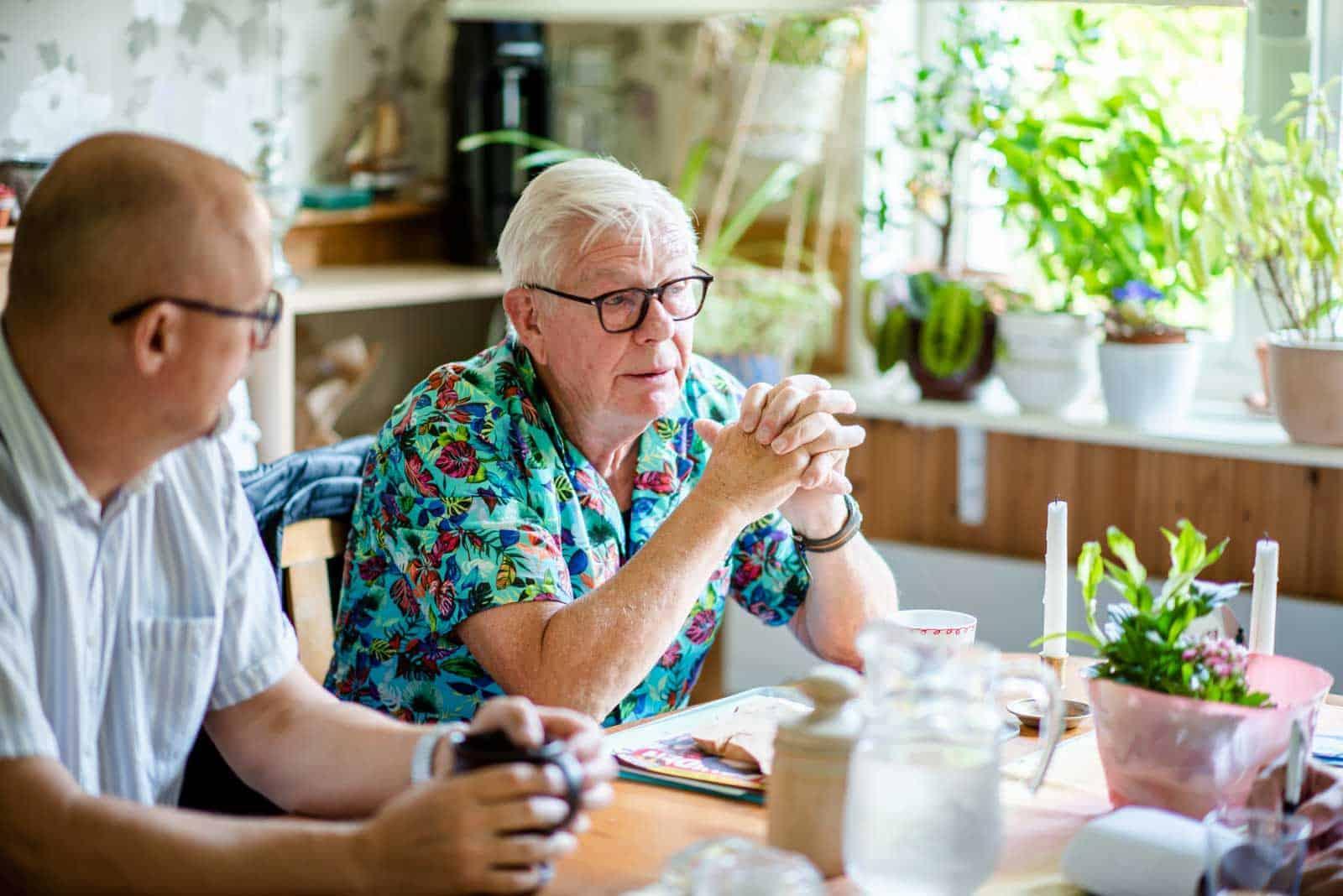 Stefan Römer och Hans-Åke Ryberg. Foto: Linnea Bengtsson.  