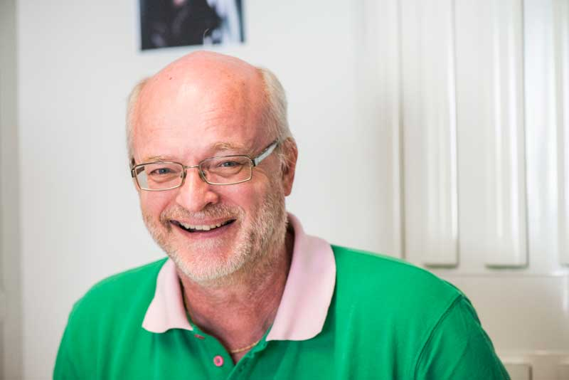 Thomas Jansson. Foto: Linnea Bengtsson.