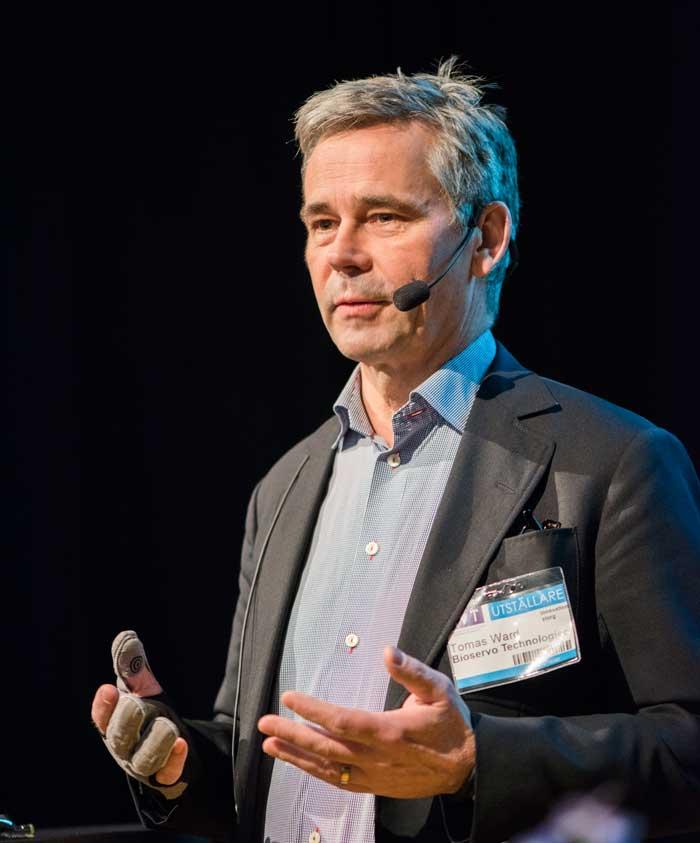 Tomas Ward. Foto: Linnea Bengtsson