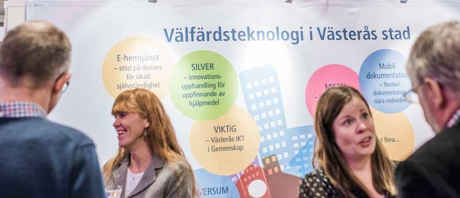 Västerås monter på MVT