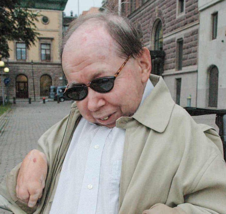 Assistansens förkämpe Vilhelm Ekensteen har avlidit