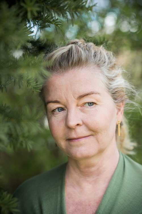 Foto på Yvonne Brynggård-Olsson. Foto: Linnea Bengtsson.
